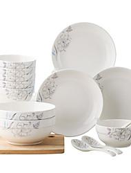 billige -20 Piece Kinesisk sæt porcelæn Keramik Kreativ
