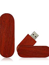 Недорогие -Ants 128GB флешка диск USB USB 2.0 Дерево / Бамбук Необычные wooden U disk