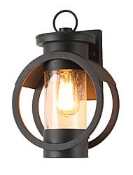 billiga -QINGMING® Vattentät / Ministil Retro / Land Vägglampor för Utomhusbruk Utomhus / Trädgård Metall vägg~~POS=TRUNC IP65 110-120V / 220-240V 60 W