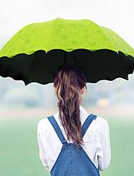 billige -EVA Alle Sol & Regn / Kreativ / resirkulerbar Sammenfoldet paraply