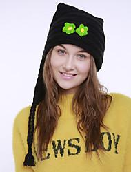 voordelige -Dames Feest Actief Acryl,Effen Floppy hoed-Herfst Winter Oranje Rood Leger Groen