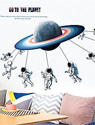 povoljno -kreativna dječja soba raspored ukras spavaonica obnova zid naljepnice planet astronaut naljepnice samoljepljive plakat zidne naljepnice