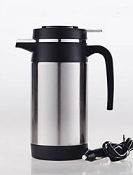 Недорогие -Автомобильный электрический чайник из нержавеющей стали 1.2 л переносной / малошумный / одноклавишный выключатель / автоматическое выключение 12 / 24v