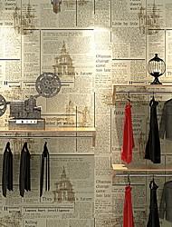 Χαμηλού Κόστους -ταπετσαρία Nonwoven Κάλυψης τοίχων - κόλλα που απαιτείται Μοτίβο
