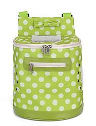 hesapli -Köpekler Kediler Taşıyıcı & Seyahat Sırt Çantaları Omuz çantası Evcil Hayvanlar Taşıyıcı Taşınabilir Kamp & Yürüyüş Karton Dizayn Yuvarlak Noktalı Karakter Turuncu Yeşil Pembe