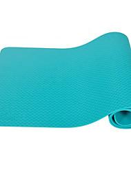 Недорогие -Коврик для йоги Мягкость, Эластичный, Липкий, Складной TPE Для Армейскийзеленый, Небесно-голубой, Сине-зеленый цвет