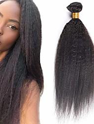 저렴한 -3 개 묶음 브라질리언 헤어 스트레이트 야키 버진 헤어 인간의 머리 직조 익스텐션 번들 헤어 8-28 inch 자연 색상 인간의 머리 되죠 파티 쉬운 드레싱 새로운 도착 인간의 머리카락 확장 여성용