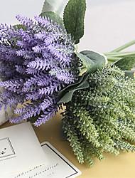 preiswerte -Künstliche Blumen 8.0 Ast Klassisch Hochzeit Pastoralen Stil Lavendel Tisch-Blumen