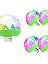 Недорогие -5 шт. Шары LED Night Light / Диско шар лампа Цветной С портом USB / Управление голосом 5 V