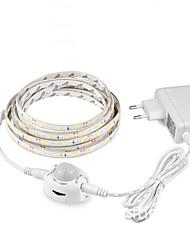 preiswerte -1m 12v pir schranklicht nacht sensor 1m körper bewegungssensor led streifen schlafzimmer schrank treppe kleiderschrank lampe 110 v-220 v stromversorgung