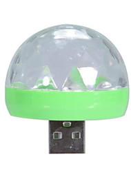 Недорогие -новинка новый лазерный свет мини RGB светодиодный диско-шар форма сценический эффект удобный party club dj мобильный телефон пк для android