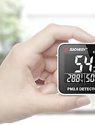 Недорогие -Sndway SW-825 цифровой монитор качества воздуха лазер PM2,5 детектор тестер газовый монитор / измеритель температуры и влажности диагностический инструмент
