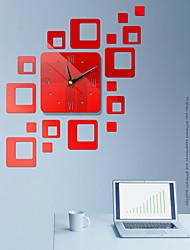 ieftine -diy perete clockeuropean din plastic acrilic neregulat interior
