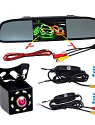 Недорогие -BYNCG W3 4.3 дюймовый TFT-LCD 480TVL 480 ТВ линий 1/4 дюйма CMOS OV7950 Беспроводное 120° 4.3 дюймовый Камера заднего вида / Автомобильный реверсивный монитор / Дисплей заголовка