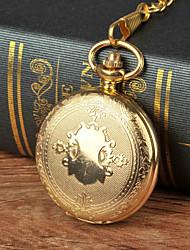 Недорогие -Муж. Карманные часы Часы-подвеска Кварцевый Золотистый Новый дизайн Cool Аналоговый Мультяшная тематика Новое поступление Aristo - Золотой