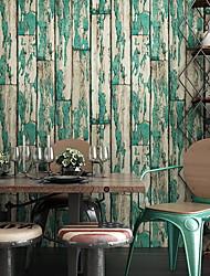 رخيصةأون -ورق الجدران محبوكة تغليف الجدران - لاصق المطلوبة خشب