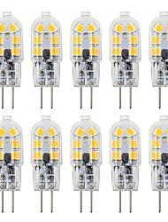Недорогие -10 шт. 3 W Двухштырьковые LED лампы 200-300 lm G4 T 12 Светодиодные бусины SMD 2835 Милый 12 V