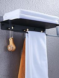 voordelige -Badkamer accessoiresets / Badjashaak / Badkamerplank Cool / Multifunctioneel Hedendaagse / Antiek Messinki / Roestvrij staal 1pc - Badkamer Dubbel (200 x 200cm) Muurbevestigd