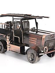 Недорогие -модель пожарной машины железная ремесленная обстановка