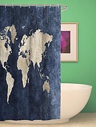 preiswerte -Duschvorhänge & Ringe Moderne Kunststoff / Polyester Wasserfest / Kreativ / Neues Design