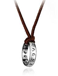 preiswerte -Damen Halskette Künstlerisch lieblich Silber 30 cm Modische Halsketten Schmuck 1pc Für Alltag