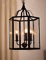 cheap -3-Light Pendant Light Ambient Light Painted Finishes Metal Glass Mini Style 110-120V / 220-240V Bulb Not Included / E12 / E14