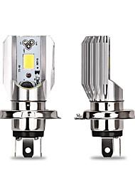 Недорогие -2pcs H4 / BA20D Мотоцикл / Автомобиль Лампы 9 W COB 900 lm 1 Светодиодная лампа Налобный фонарь Назначение Универсальный Все года