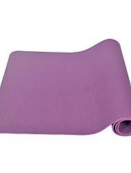 Недорогие -Коврик для йоги Мягкость, Эластичный, Липкий, Складной TPE Для Лиловый, Пурпурный, Сине-зеленый цвет