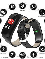 Недорогие -Indear C15 Мужчины Умный браслет Android iOS Bluetooth Smart Спорт Водонепроницаемый Пульсомер Измерение кровяного давления / Датчик для отслеживания активности / Датчик для отслеживания сна