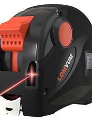 voordelige -lomvum oplaadbare usb oplader meetlint 40m lcd digitale display laser afstandsmeter 5m digitale tape