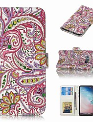 cheap -Case For Samsung Galaxy S9 Plus / S8 Plus Wallet / Card Holder / Flip Full Body Cases Flower Hard PU Leather for S9 / S9 Plus / S8 Plus