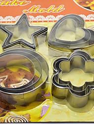 economico -5 pezzi Acciaio inossidabile Utensili innovativi da cucina Dessert Tools Strumenti Bakeware