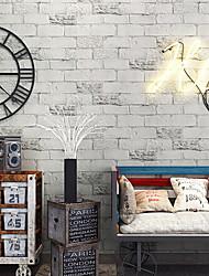 Χαμηλού Κόστους -ταπετσαρία Πλαστικά & Metal Κάλυψης τοίχων - κόλλα που απαιτείται Μονόχρωμο