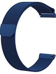 Недорогие -Ремешок для часов для Fitbit Versa / Fitbit Versa Lite Fitbit Миланский ремешок Металл Повязка на запястье