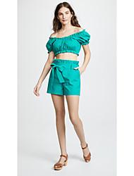 levne -Dámské Základní Sada - Patchwork, Jednobarevné Sukně / Kalhoty