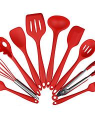 hesapli -10 adet yapışmaz mutfak silikon isıya dayanıklı mutfak pişirme eşyaları pişirme aracı pişirme aracı setleri