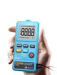 billige -zt08 mini digital multimeter 8000 teller linjefrekvens sant-rms flash lys ac / dc spenning ohm mini frekvens ultratyn voltmet