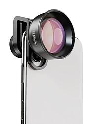 Недорогие -Объектив для мобильного телефона Длиннофокусный объектив стекло / Алюминиевый сплав 2X 40 mm 0.045 m 48 ° Новый дизайн / Cool / Милый