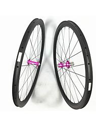 Недорогие -FARSPORTS 700CC Колесные пары Велоспорт 23 mm Шоссейный велосипед Углеродное волокно Клинчерная покрышка 20/24 Спицы 50 mm
