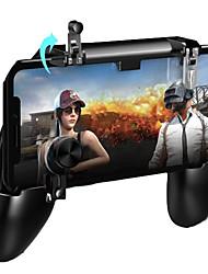 Недорогие -Мобильный игровой контроллер Pugb Free Fire Pubg Мобильный джойстик Геймпад Металл L1 R1 Кнопка для Iphone Gaming Pad Android