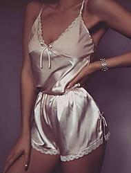 hesapli -Takımlar Yatak kıyafeti - Dantel, Solid Kadın's