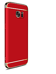 baratos -Capinha Para Samsung Galaxy S8 Plus / S8 Antichoque / Galvanizado / Áspero Capa traseira Cores Gradiente Rígida Plástico para S8 Plus / S8