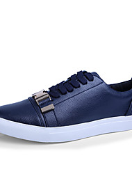hesapli -Erkek Ayakkabı Mikrofiber İlkbahar yaz Günlük Spor Ayakkabısı Yürüyüş Günlük için Mavi