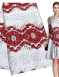 ieftine -Dantelă Stilul popular Model 120-135 cm lăţime țesătură pentru Îmbrăcăminte și modă vândut langa Curte