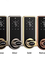 Недорогие -Smart professional electric mortise door lock for hotel security Прочее / Замок / Распродажа брендовых товаров сплав цинка RFID / Разблокировка пароля / Разблокировка ключа для Для дверного проема