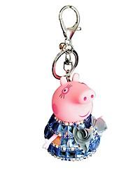 economico -Creativo / Personaggi di cartoni animati Bomboniere Portachiavi Cristallo Tastiere RFID - 1 pcs Per tutte le stagioni