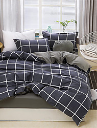 ieftine -Seturi Duvet Cover Contemporan Poliester Imprimat 4 PieseBedding Sets