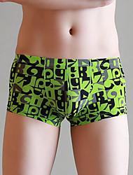 voordelige -heren boxers ondergoed - print 1 stuk midden taille