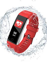 Недорогие -Indear 115PRO Женский Умный браслет Android iOS Bluetooth Smart Спорт Водонепроницаемый Пульсомер Измерение кровяного давления / Датчик для отслеживания сна / будильник / Датчик частоты пульса