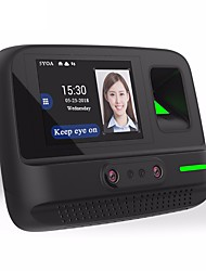 cheap -5YOA AF4 Attendance Machine Camera / Record the Query Fingerprint / Password / Face School / Hotel / Office